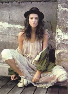 Daria Werbowy and Hermes Photograph