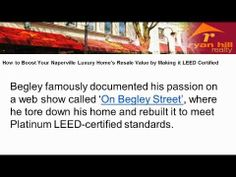 """How to Boost Your Naperville Luxury Home's Resale Value by Making it LEED Certified http://ryanhillrealty.tumblr.com/post/87286111396/how-to-boost-your-naperville-luxury-homes-resale-value http://www.ryanhillrealty.com/ - Know the benefits of turning your Naperville Luxury Home """"GREEN"""". If you're looking for a trusted REALTOR® to help with your Naperville luxury home for sale call Teresa Ryan at 630-276-7575. Teresa Ryan is the owner/broker of Ryan Hill Realty."""