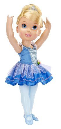 Amazon.com: My First Disney Princess Ballerina Princess Cinderella Toddler Doll: Toys & Games