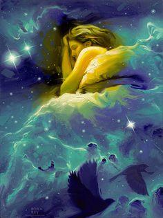 Nestled in Nebulae, Study by Rob Rey - robreyfineart.com