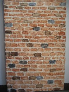 Bricks made form paper clay   For my Tudor dolls house I needed to make a large brick chimney and brickinfill in a herringbone pattern f...