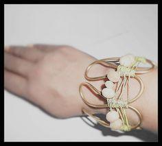 wire bracelet. Bangles, Bracelets, Wire, Jewelry, Fashion, Moda, Jewlery, Jewerly, Fashion Styles