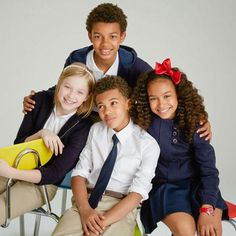 Go back to school in stylish uniforms #BackToSchoolStyle #zulilyfinds