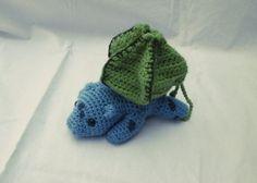 Bulbasaur Dice Bag by CuddleMeGeek on Etsy, $25.00