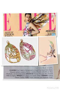SI Sabato Isabel - contemporary jewellery  Elle magazine, Argentina