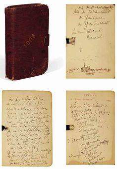 Proust : l'agenda inédit de 1906, début de décryptage - Philippe Sollers/Pileface