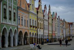 Dancing Houses in Telc