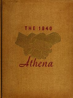 Athena Yearbook, 1940. Click through to see the entire yearbook. :: Ohio University Archives