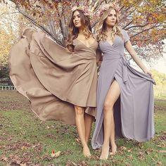 Capulet maxi dress in grey SHOWPO Fashion Online