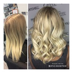 Blonde highlights and loose curls created by Aimee Moon. Loose Curls, Blonde Highlights, Hairdresser, Moon, Style Inspiration, Long Hair Styles, Beauty, Beautiful, Blonde High