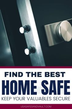 The best prices for the best safes for home! USA Safe and Vault provides top of the line home safes for anyone of your valuables. We give new unique ideas to keep your most prized possessions hidden, safe and secure. Keep your guns and family safe. Better safe than sorry, head over to our website now to discover our wide range of vaults and home safes, so you can find the perfect storage to keep all your documents and valuables secure. Small Gun Safe, Hidden Safe, Best Home Safe, Cannon Safe, Personal Safe, Vault Doors, Gun Safes, Best Safes, Important Documents