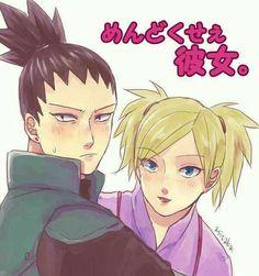 Image de nara, temari, and shikamaru