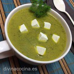 Crema de brócoli y queso < Divina Cocina