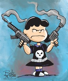 Lucy van Pelt - The Punisher. XombieDIRGE : Photo