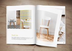Catalogue Design by Inese Ozoliņa, via Behance