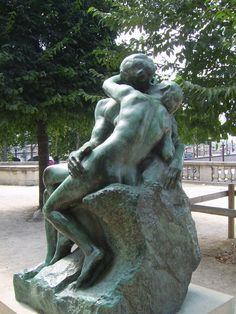 The kiss, by Rodin. Musee de l'Orangerie