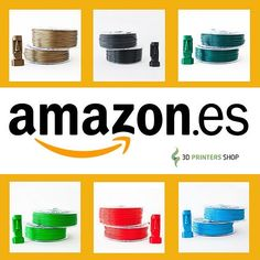 Something we liked from Instagram! We are at #amazonespaña now! #discover #beautiful #colors of our #smartfil #3dfilament Estamos en amazon.es! Descubre los bonitos colores de nuestros filamentos smartfil!  #filament #3dfilament #abs #pla #bestquality #3dprinters #3d #3dprintersonlinestore #3dprinter #highquality #amazoncom #onlineshopping #compraonline #tiendaonline #happysunday #design #modelling  #architecture #prototype #amazon by 3dprintersshop check us out: http://bit.ly/1KyLetq