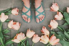 Teal Strap Leather Sandals Blue Sandals by CruponSandals on Etsy, $84.00