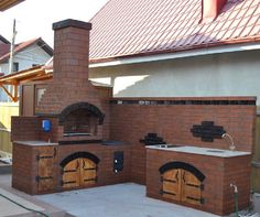 Frumoase foc grătarele lui Dragomir! Hai să afli povestea lor | Adela Pârvu - Interior design blogger Backyard Fireplace, Garden Furniture, Barbecue, Outdoor Gardens, Garden Design, Exterior, Landscape, Outdoor Decor, Hotels
