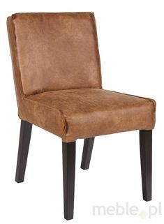 Krzesło jadalniane RODEO - koniak, Be Pure - Meble - sklep meble.pl Rodeo, Chair Design, Accent Chairs, Slippers, Furniture, Color, Home Decor, Upholstered Chairs, Decoration Home