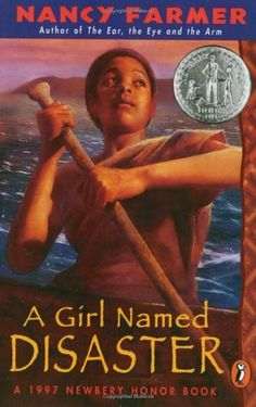 1997 Honor book: A Girl named Disaster by Nancy Farmer. One of my favorite books from middle school. I have probably read it a dozen times.