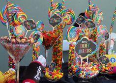 emmy candy buffet