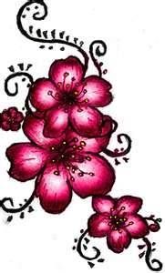 Ideas Flowers Tattoo Pink Cherry Blossoms For 2019 Wörter Tattoos, Word Tattoos, Trendy Tattoos, Flower Tattoos, Body Art Tattoos, Tattoo Drawings, Tatoo 3d, Tattoo Pink, Henna Pie