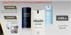 Desodorantes com refil grátis. Aproveite, promoção por tempo limitado. http://rede.natura.net/espaco/piabebeecrianca