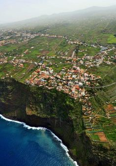 Living on The Edge ~El Sauzal, Tenerife Places Around The World, Oh The Places You'll Go, Travel Around The World, Cool Places To Visit, Places To Travel, Ibiza, Spain And Portugal, Canary Islands, Spain Travel
