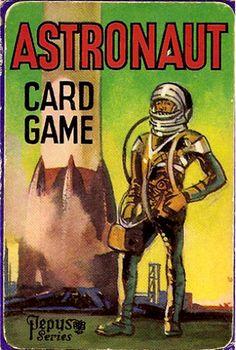 Astronaut Card Game: Pepys (Britain), 1950s