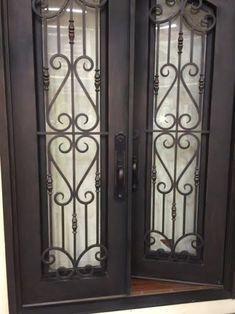 Wrought Iron Doors | Monarch Custom Doors