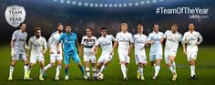 """My UEFA Team Of The YEAR 2014!""  Vote for them on this link below:"