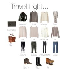 Travel Light... Almost Anywhere.
