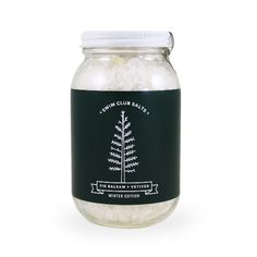 Dead Sea salt scented with fir balsam and vetiver essential oils