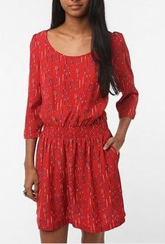 So cute. Cooperative Blouson Dress.  www.urbanoutfitters.com  $59.00