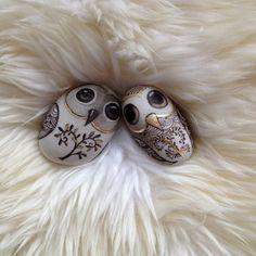 OOAK  '' TWO OWLS'' by vanolga on Etsy, $150.00