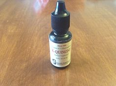 K-Quinone is sold in the U.S. as an oral Vitamin K supplement. It has not gone through the FDA approval process.