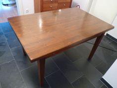 Küchentisch Esszimmertisch Massivholz massiv Pinie 140 cm x 90 cm