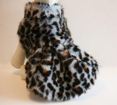 Leopard Dog Coat, dog clothing, Dog Jacket, Dog Dress, Winter Clothing