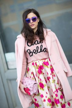 Check out some of the best street style snaps from NYFW 2014. Click for more.