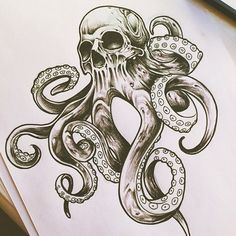 kraken vector - Google Search #NeatTattoosIWouldHave