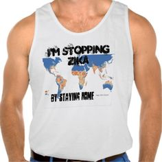 I'm Stopping Zika Tank Top by RoseWrites