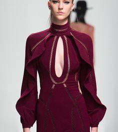 Marsala Red Zimmerman Dress FW2015 #pixiemarket