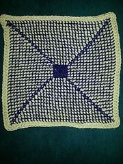 Ravelry: Center-Start Tunisian Scrap Afghan pattern by Michele Reed