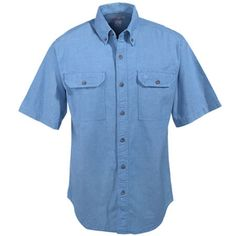 e52ed0f8dd4 ... Flame Resistant Canvas Shirt Jac. See More. Carhartt Shirts  Men s Blue  S200 CBL Short Sleeve Cotton Chambray Shirt  CarharttClothing   DickiesWorkwear