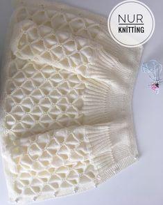 Crochet lace dress pattern free baby girls 35 Ideas for 2019 Diy Crafts Knitting, Knitting For Kids, Baby Knitting Patterns, Knitting Stitches, Hand Knitting, Diy Crafts Crochet, Crochet Girls, Crochet For Kids, Knit Crochet
