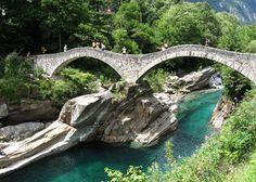 Verzasca Valley Trail, Ticino, Switzerland