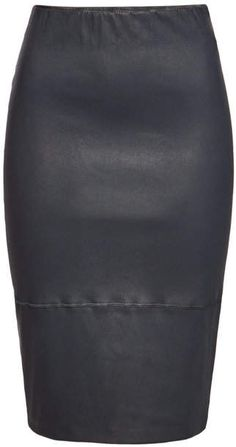 8db9c8fdb1 Joseph   Clare metallic stretch-leather pencil skirt   NET-A-PORTER ...