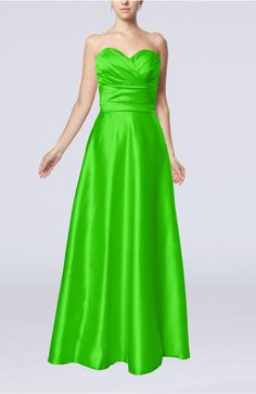 Classic Green Affordable Evening Dress Formal Full Figure Plus Size