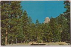 Idyllwild California Postcard Tahquitz Peak Lily Rock View c1960s Unused   eBay